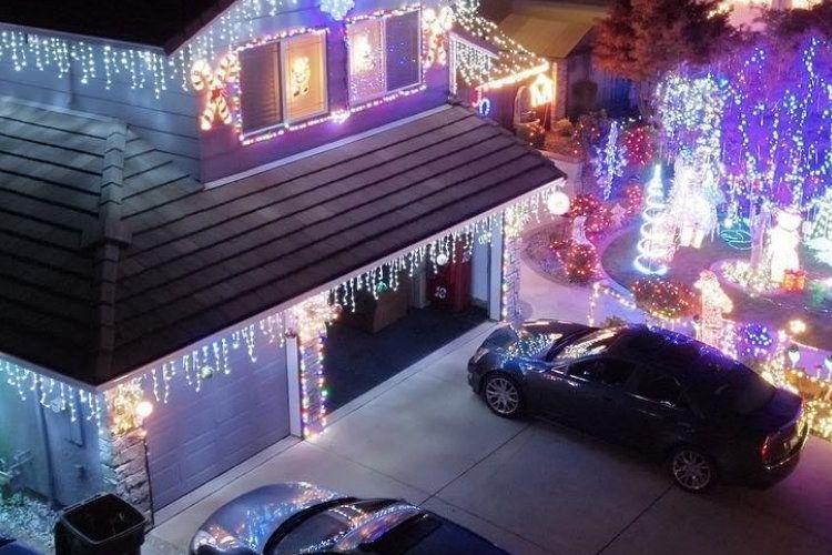 Vacaville Home Christmas lights