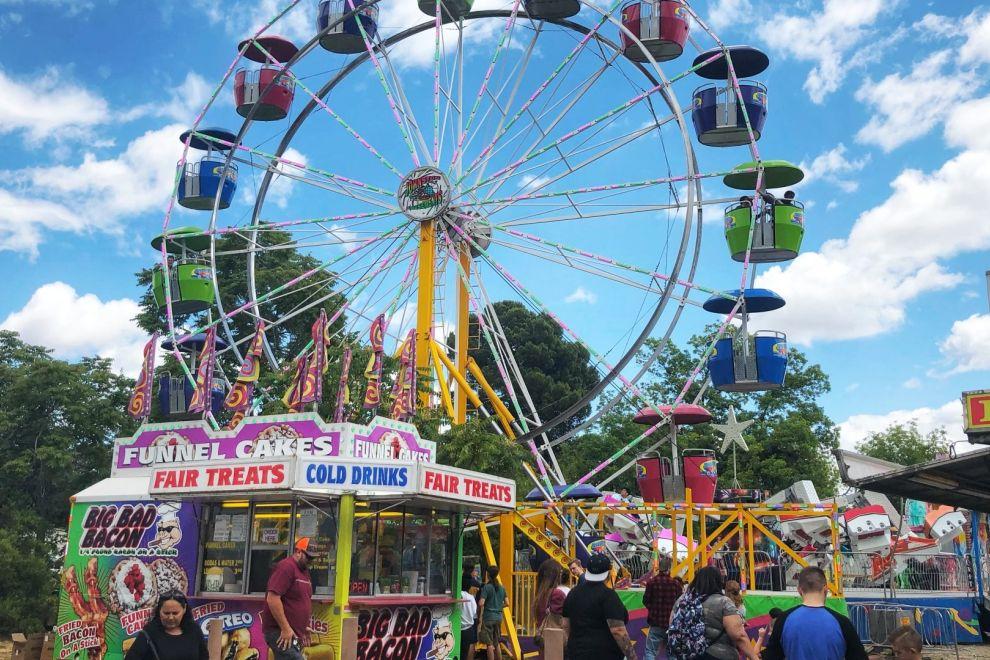 Vacaville Fiesta Days Ferris Wheel