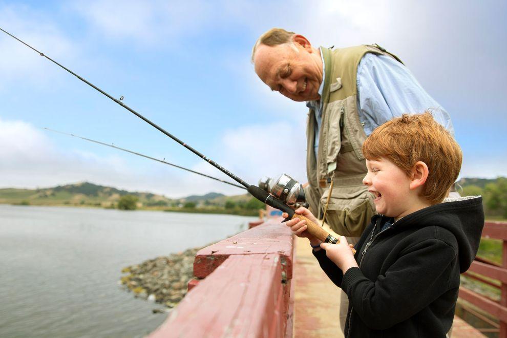fishing vacaville